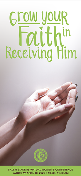 Grow Your Faith in Receiving Him